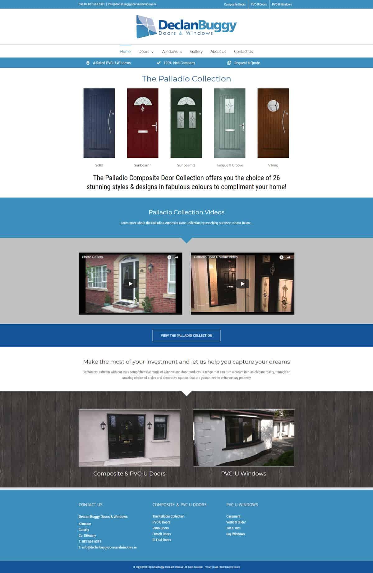Declan Buggy Doors & Windows – New Website Launched