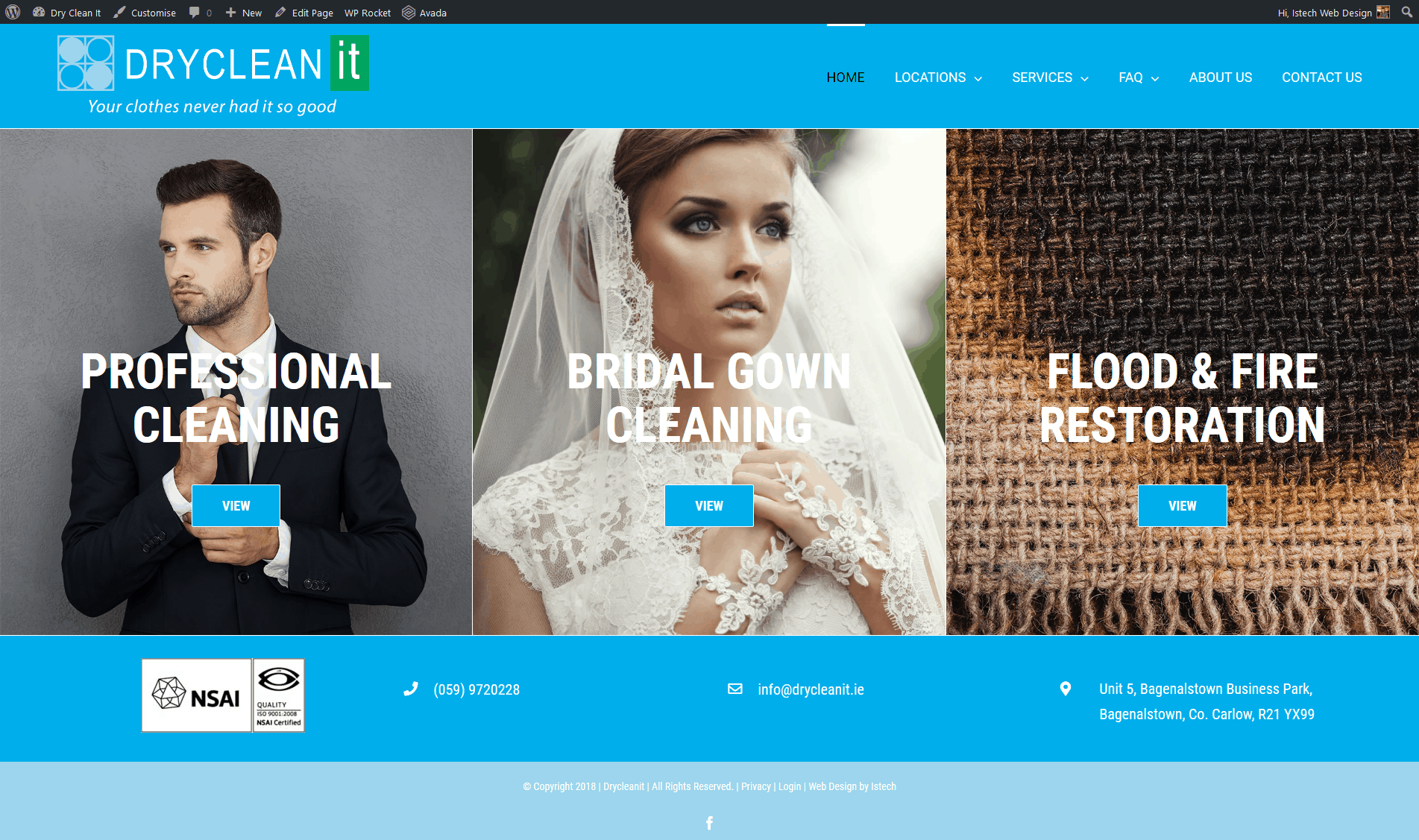 Dry Clean It – New Website Launched