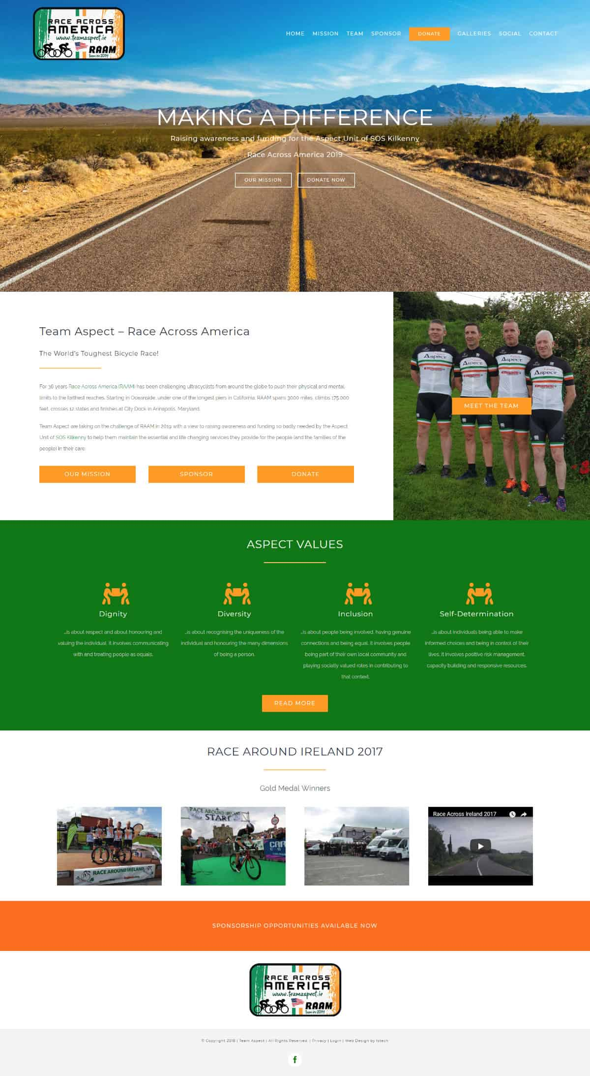 Team Aspect – New Website Launched